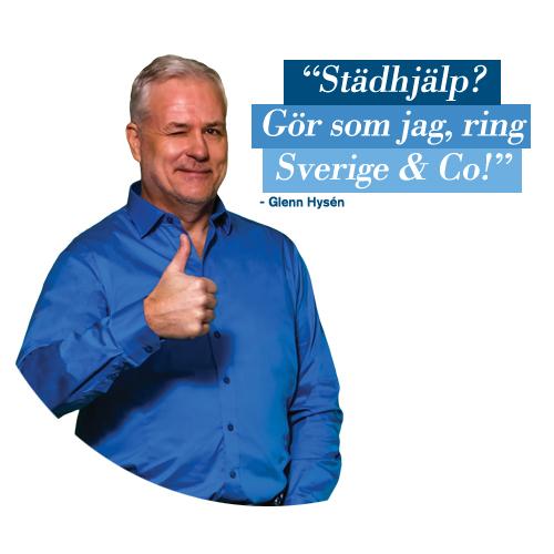 städhjälp i Göteborg med Glenn